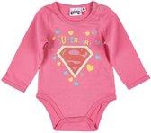 Superbaby-Babyromper-fuchsia - Maat 68
