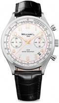 William L. 1985 WLAC01BCORCN horloge heren - zwart - edelstaal