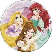 Disney Bordje Princess Melamine 24 Cm