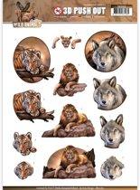Uitdrukvel  - Amy Design - Wild Animals