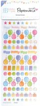 Domed Stickers - Happy Birthday To You (Icons)