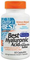 Doctor's Best Best hyaluronzuur met chondroitine sulfaat - 60 Capsules - Voedingssupplement