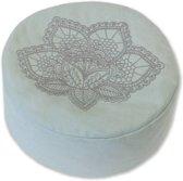 Lotus Meditatiekussen - Mint - Yoga Kussen