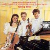 Piano Trios No.1, D Minor, Op.49 &