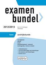 Examenbundel HAVO aardrijkskunde - 2012/2013
