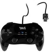 Under Control Expert Classic Controller Wii + Wii U - Zwart