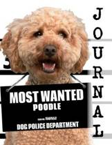 Most Wanted Poodle Journal