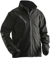 1201 Soft Shell light jacket Black 3xl