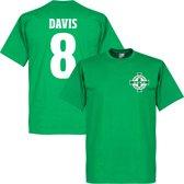Noord Ierland Logo Davis T-Shirt - M