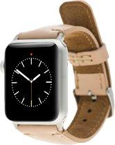 Bomonti Leather Leren bandje - Apple Watch Series 1/2/3 (42mm) - Roze