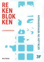 Rekenblokken leerwerkboek 3F