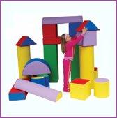 Complete Mega Set- Speel, Bouw & Zit schuim blokken / kussens / elementen / foam