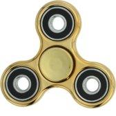 METALLIC goudkleurige Fidget spinner/hand spinner
