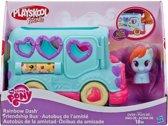Playskool My Little Pony  Schoolbus Autobus Rainbow Dash