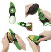 Premium 3-in-1 Avocado Set - Avocado Snijder & Vershouder - Inclusief gratis Citrus Spray - Keukengadget Avocadosnijder Avocado