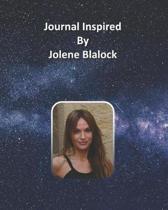 Journal Inspired by Jolene Blalock