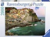 Ravensburger Cinque Terre - Puzzel van 2000 stukjes