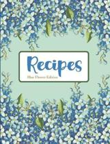 Recipes Blue Flower Edition