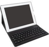 iPad Air / Air 2 Bluetooth Keyboard Case Toetsenbordhoes - Donkerblauw