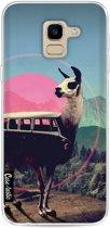 Casetastic Softcover Samsung Galaxy J6 (2018) - Llama