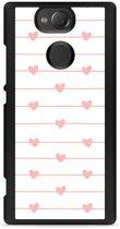 Xperia XA2 Hardcase Hoesje Pink Love