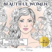 Stress Coloring (Beautiful Women)