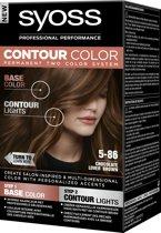 SYOSS Contour Color 5-86 Chocolate Lover Brown 50 ml Haarverf - 1 stuk