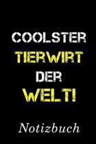 Coolster Tierwirt Der Welt Notizbuch: - Notizbuch mit 110 linierten Seiten - Format 6x9 DIN A5 - Soft cover matt -