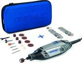 Dremel 3000 Multitool - Roterend - 130 Watt - Inclusief 15 accessoires, zachte etui en 11-delige EZ-SpeedClic snijset SC690