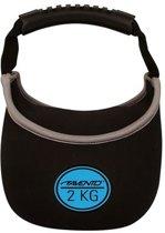 Avento - Kettlebell - 2 kg - Zwart
