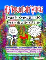 Help honolulu Flower Get Petals Learn to Count 0 to 20 Learn to Add Up 1 Petal at a Time