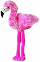 Pluche flamingo knuffel 20 cm - knuffeldier / knuffels
