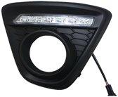 Pasklare Bumpergrills Incl. DRL Mazda CX-5 2012- (voor Modellen Met Mistlampen)