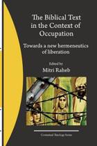 The Biblical Text in the Context of Occupation