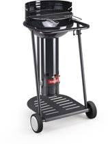 Barbecook Optima Black Go Houtskoolbarbecue - Ø 43 cm - Zwart