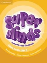 Super Minds American English Level 5 Class Audio CDs (4)