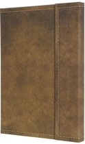 notitieboek Sigel Conceptum 194blz hard Vintage Brown 155x203mm geruit