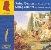 Mozart: String Quartet in E flat major, KV 428; String Quartet in B flat major, KV 458