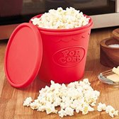 MikaMax Popcorn Maker Magnetron popcorn Silicoon