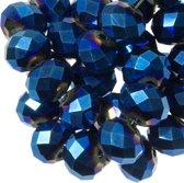 Blanke Houten Ring (45 mm) 10 stuks