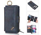 Huawei P30 PRO Pelegon hoesje + portemonnee geschikt voor 12 pasjes minimaal blauw