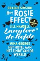 Omslag van 'Het Rosie effect; Lang leve de liefde; Het hotel aan het einde van de wereld'