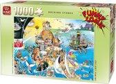 Funny Comic Puzzel 1000 Stukjes ROCKING STONES
