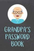 Grandpa's Password Book: Organizer to Protect Usernames and Passwords for Internet Websites and Services