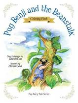 Pug Benji and the Beanstalk - Coloring Book
