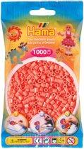 Strijkkralen 1000 Stuks Rood Pastel