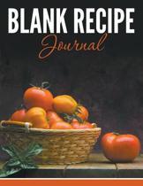Blank Recipe Journal