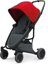 Quinny Zapp Flex Plus Buggy - Red on Graphite