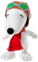 Pluche Snoopy knuffel Flying Ace 18 cm