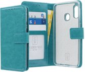 Samsung Galaxy A20e hoesje - CaseBoutique - Turquoise - Kunstleer